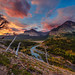 Glacier National Park's Scree Scram Sunrise by Tom.Bricker