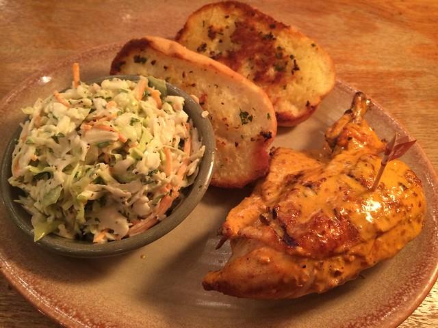 1/4 chicken breast and wing - Nando's Peri-Peri