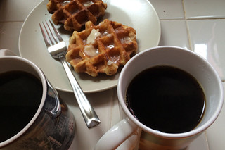 Peet's Coffee Major Dickason's Blend - Pairing with home made waffles