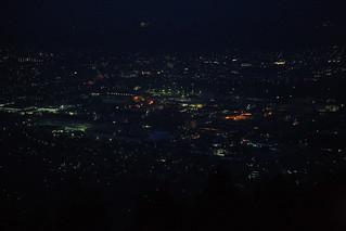 秦野市の夜景2