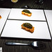 My family\'s Egg on Egg amuse bouche - duck egg yolks between broiche toasts topped with sturgeon caviar