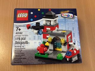 Lego 40181 Fire Station - Bricktober Sets 2014