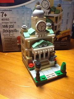 Lego Bricktober Mini Townhall