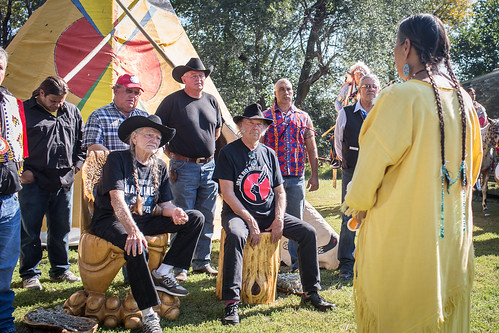 Honoring of Willie Nelson and Neil Young at Harvest the Hope Concert