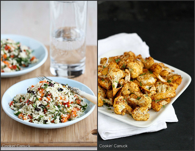 Healthy Cauliflower Recipes | cookincanuck.com #vegetarian