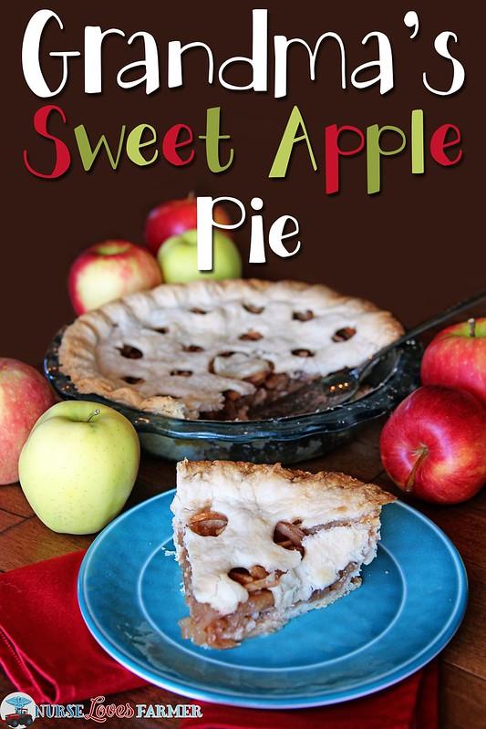 Grandmas Sweet Apple Pie