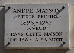 Photo of White plaque № 31702