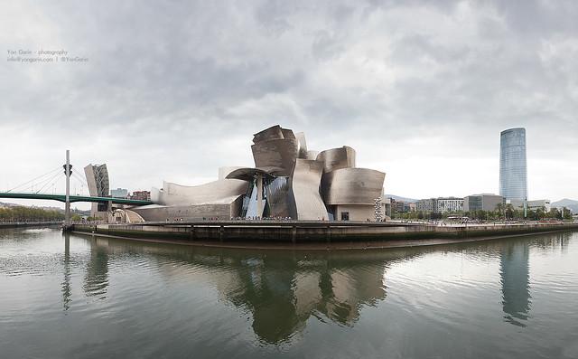 Panorámica Museo Guggenheim de Bilbao