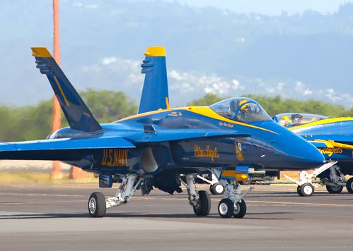 U.S. Navy Blue Angels - Honolulu, Hawaii