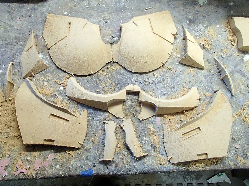 Sith Acolyte Chest Parts