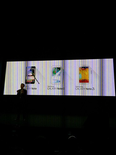 Samsung Galaxy Note 4 World Tour 2014 Singapore - Note Family