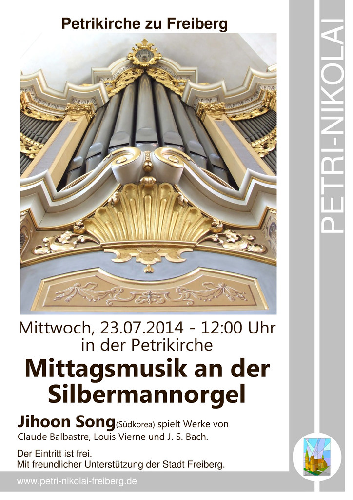Petrikirche Jihoon Mittagsmusik