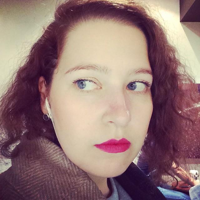 #burberrylipvelvet накрасил консультант в Л'Этуаль
