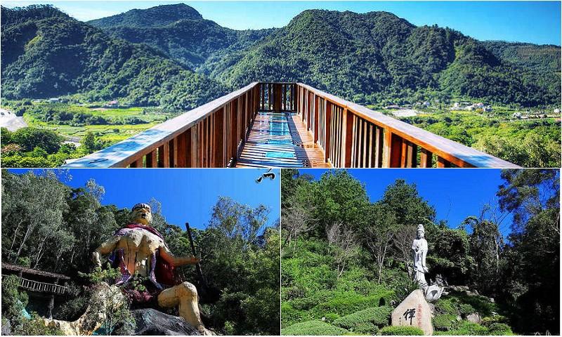 天空步道 莫那魯道巨人像 賽德克故事館 滴水觀音 泰雅渡假村 南投私房景點