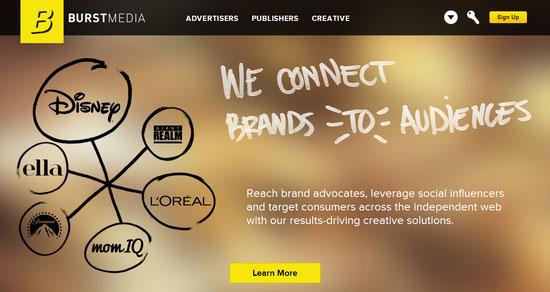 Burst Media CPM Ad Network