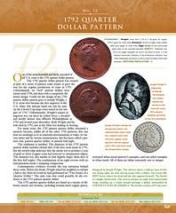 1792 Quarter Dollar pattern