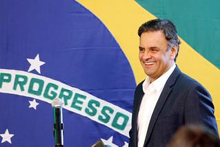 Aécio Neves - Vitória no Primeiro Turno - 05/10/2014