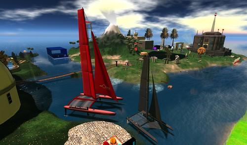 View Across Science Sim