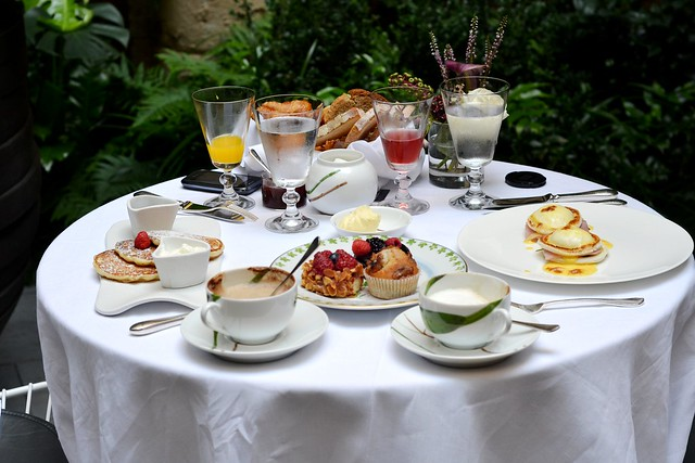 Breakfast at the Hotel Mercer in Barcelona