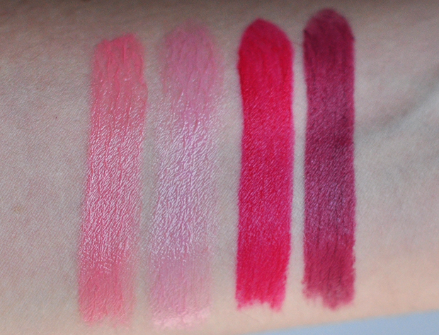 stylelab beauty blog review Gosh Velvet Touch lipsticks fall winter 2014 swatches