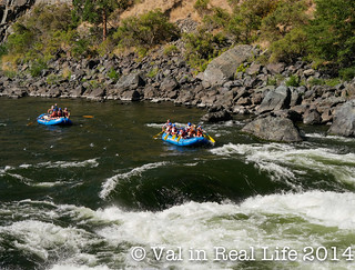 val in real life - hell hike and raft