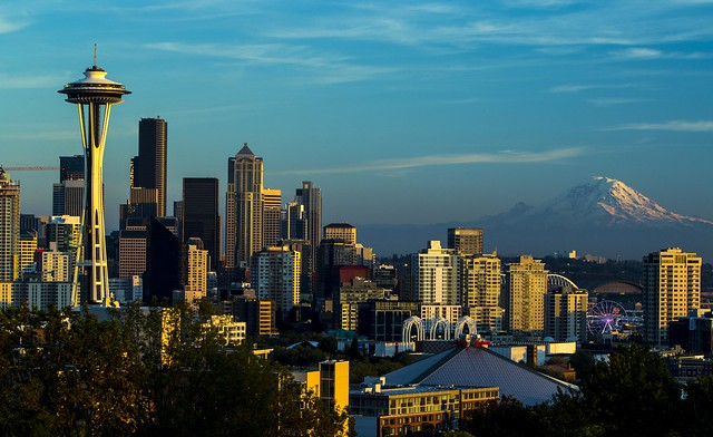 Seattle by CC user tiffany98101 on Flickr