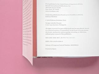 Sebastien Lifshitz, The Invisibles. Rizzoli International Publications 2014. Design: Isabelle Chemin. Colophon / verso della pagina dell'occhiello, a pag. [4] (part.), 1