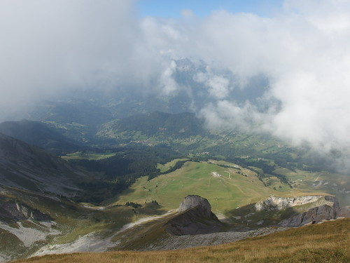 Summit @ Hike to Mont Charvin