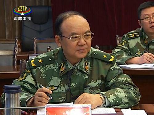武警西藏總隊政委唐曉