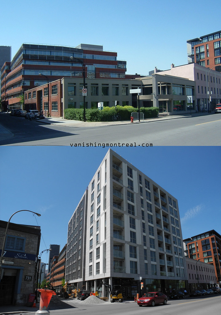 Before / After - Queen st and de la Commune