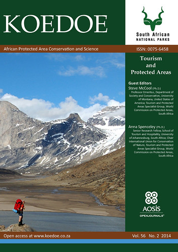 Koedoe Special Issue: Tourism and Protected Areas @OpenJournals @anna_spenceley @SueSnyman