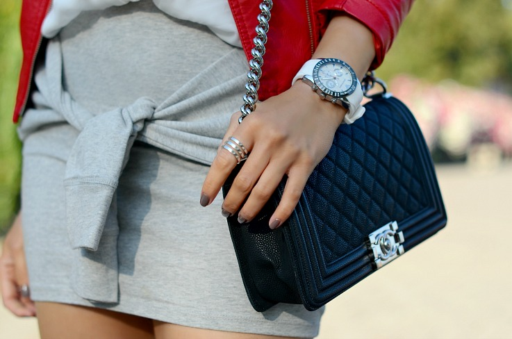 DSC_9823 Chanel Boy Bag, Armani Watch