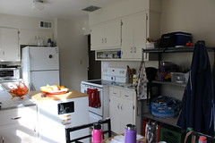 Progress- Kitchen and Library (4)