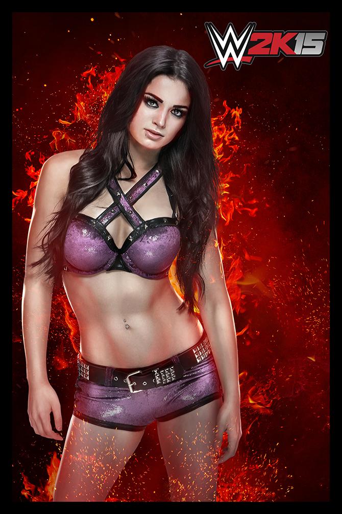 WWE2K15-Paige