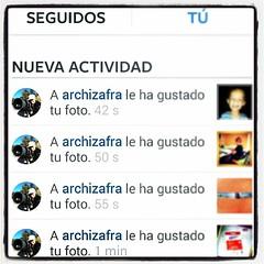 Yo si que tengo un #instagramerfan en toda regla!! Gracias amigo @archizafra!!  #ig #igers #igerstorrevieja #Instagram #instagramers