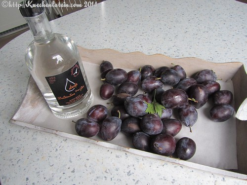 ©local products - gin and damsons