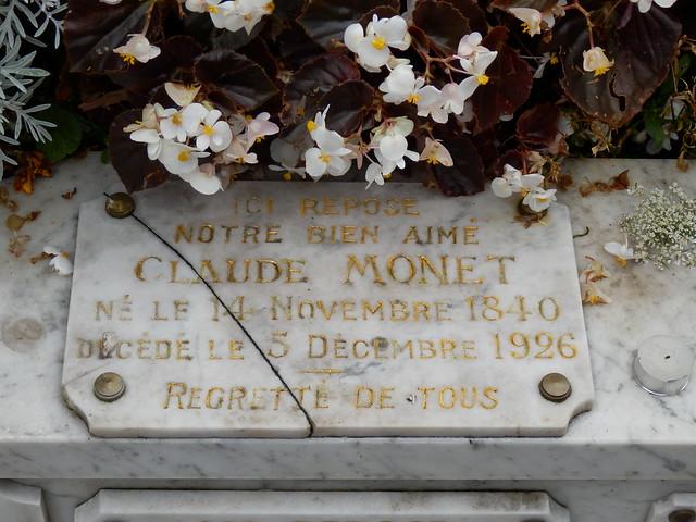 Tumba Claude Monet