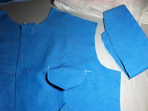 turquoise denim jacket start