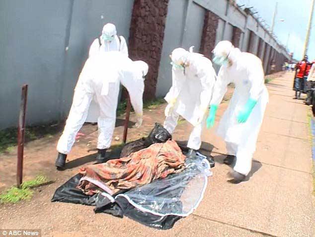 Thi thể nạn nhân dịch bệnh Ebola đột nhiên sống lại