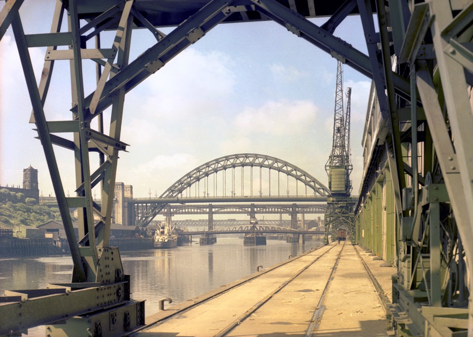 Tyne Bridge, 1960
