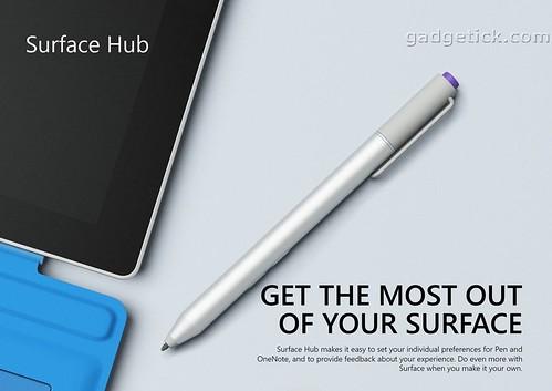 Surface Hub настройка стилуса
