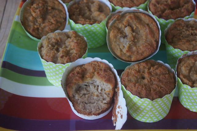 gluten free honey cupcakes