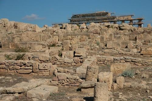 Acropoli di Segesta: primi resti