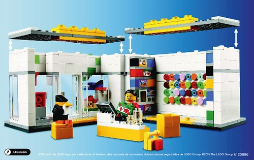 LEGO Brand Retail Store 40145 Back