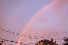 Sunset Rainbow, Oct. 22, 2013