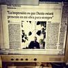 Hoy domingo podrás leer la primera entrevista que @felixsabroso ofrece a un medio de comunicación tras el fallecimiento de su compañera Dunia Ayaso el 28 de febrero de este año. Será en el periódico de La Provincia de su ciudad, Las Palmas de Gran Canaria