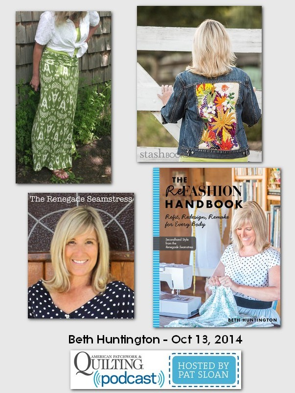 American Patchwork and Quilting Pocast Beth Huntington 2014