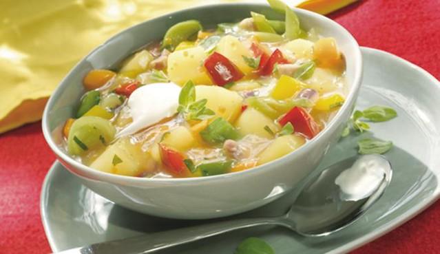 Platz 3: Gemüsesuppe