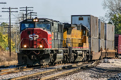 UP 3998 | EMD SD70M | BNSF Thayer South Subdivision