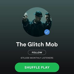 Found a sick new group today @theglitchmob.. Can't lie  as I haven't heard of them but did a complete two hour #legday session while blasting them through the headphones!!! What's your favorite group or playlist to kill a session with?? Let me know!!! #fl